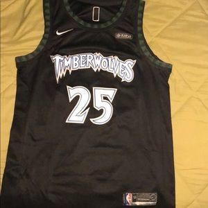 on sale 4b86a cbf63 Timberwolves Derrick Rose Jersey size 50 (Large)